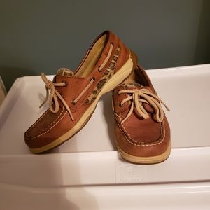 Sperry Boat Shoes, size 6